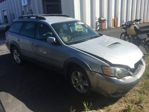 2005 Outback XT right front