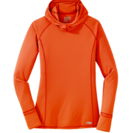 Hooded Sun Shirt with Thumb Holes