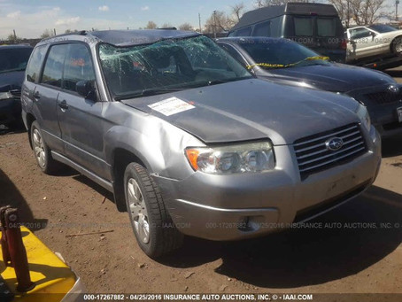 2008 Subaru Forester X part out AT 109k