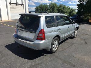 2004 Subaru forester xt right rear