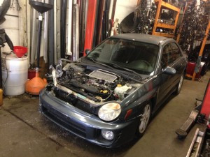 2002 Subaru WRX sedan full part out 5-speed
