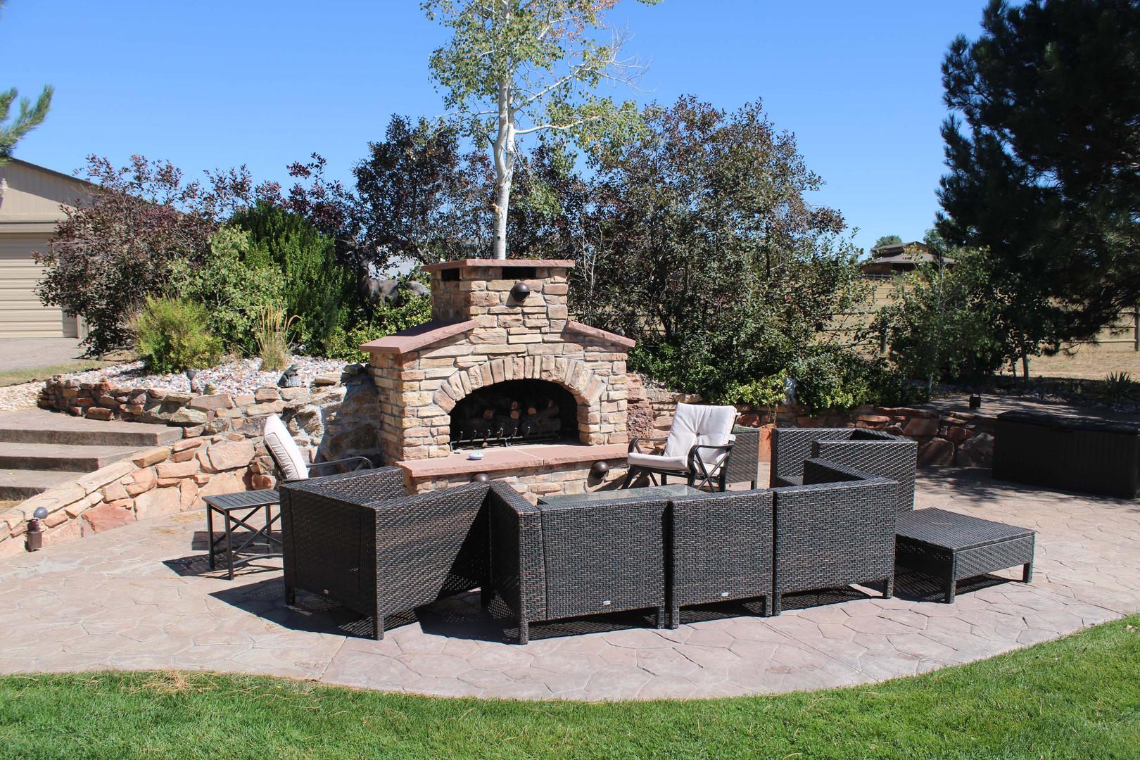 custom outdoor patio