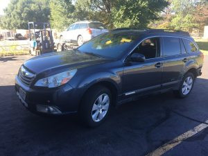 2011 Outback front left
