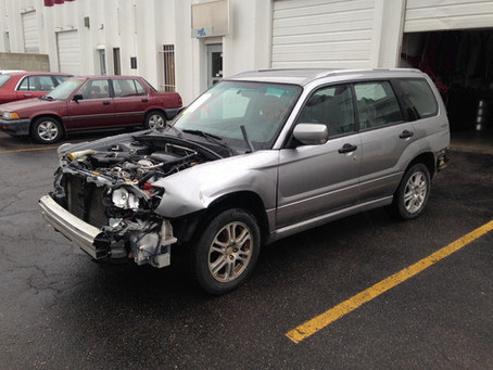 2008 Subaru Forester X Sports automatic 151k complete part out