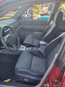 2005 Forester XT interior