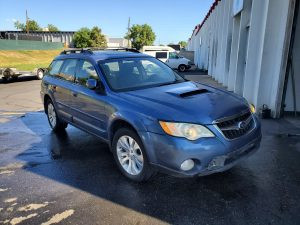 2008 Outback XT front right