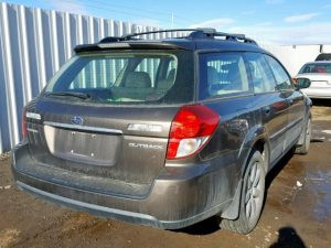 2008 outback rear right
