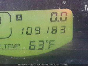 2008 Subaru Forester X mileage