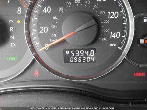 2008 Subaru Outback Miles