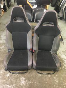 2007 WRX sedan front seats