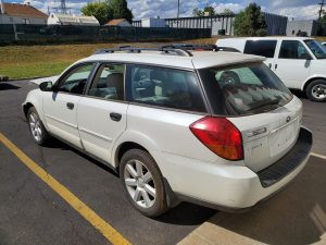 2006 Outback left rear
