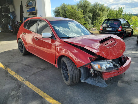 2008 Subaru STI 2.5L Hatch RED 144k 6speed M/T