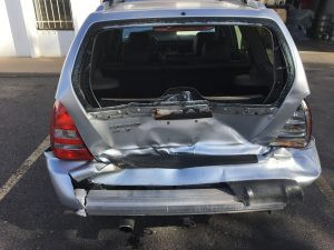 2005 Subaru Forester XT rear