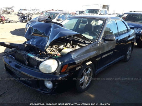 2002 Subaru Impreza WRX sedan 5 speed full part out