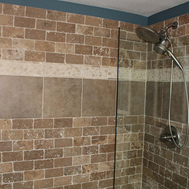 custom bathroom remodel