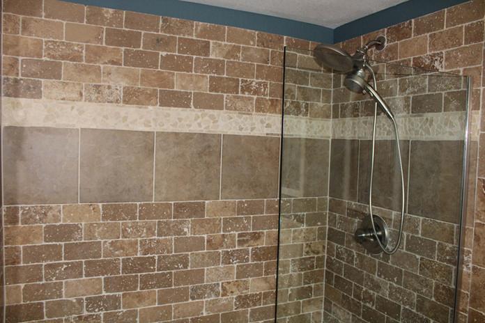 basement shower remodel
