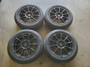 2008 Impreza hatch wheels and tires