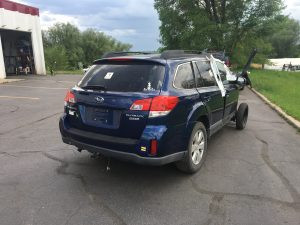 2010 Outback right rear