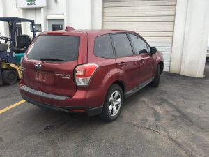 2018 forester right rear