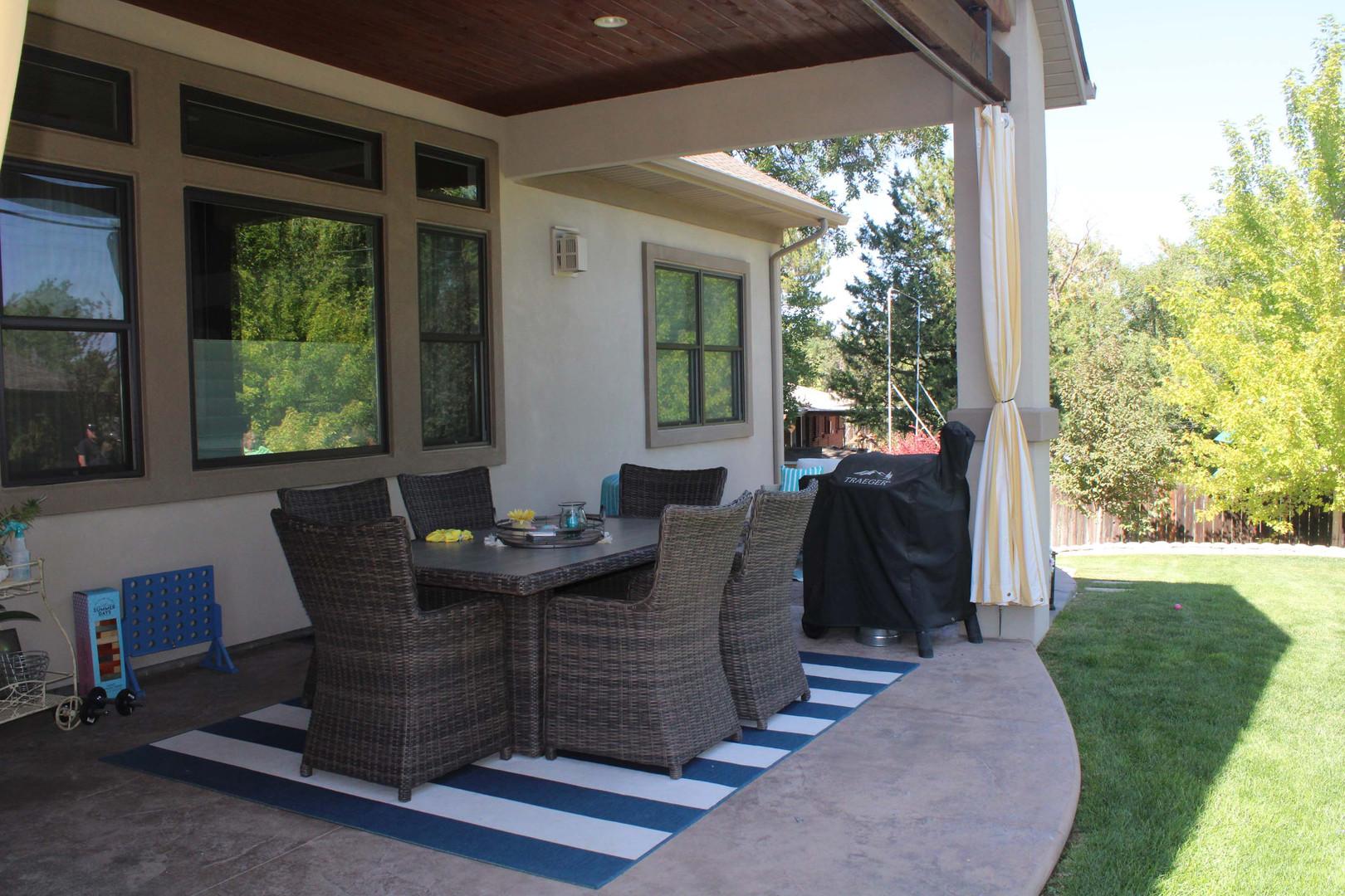 outdoor home patio enclosure