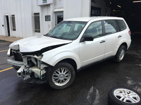 2009 Subaru Forester 2.5l 4EAT 108k White