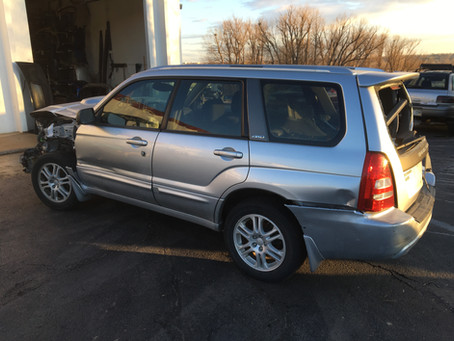 2004 Subaru Forester 2.5 XT 5speed M/T 205k complete part out