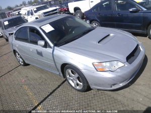 2005 Subaru Legacy GT right front