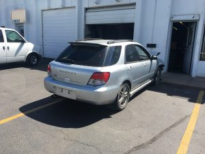 2005 WRX wagon passengers side rear