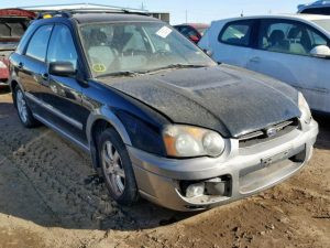 2005 impreza outback front right