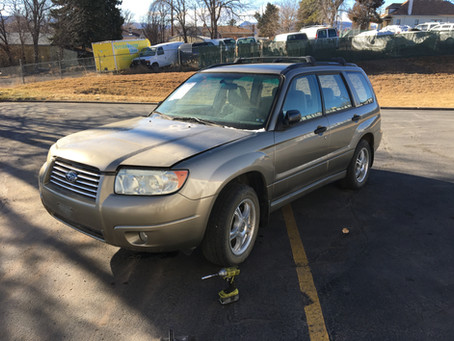 2008 Subaru Forester X non turbo M/T 179k Complete part out