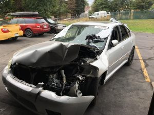 2007 legacy sedan front left