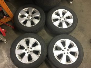 2011 Outback wheels and tires