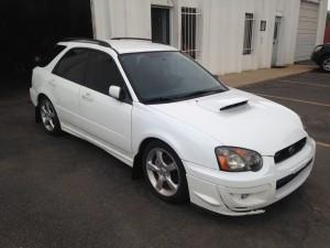 2004 Subaru WRX wagon fr