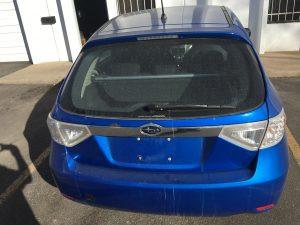 2008 Subaru WRX hatch rear