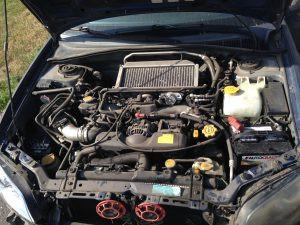 2005 Subaru WRX hawkeye engine