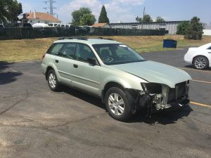 2005 Outback front right