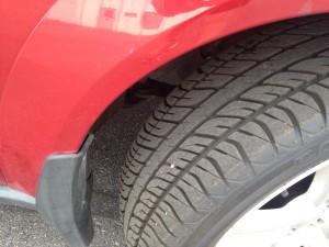 2005 Subaru Outback XT tires