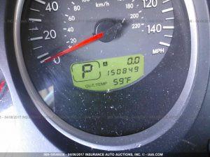 2005 Subaru Forester XT mileage