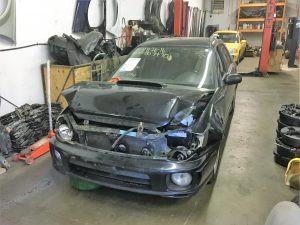 2003 Subaru WRX wagon front