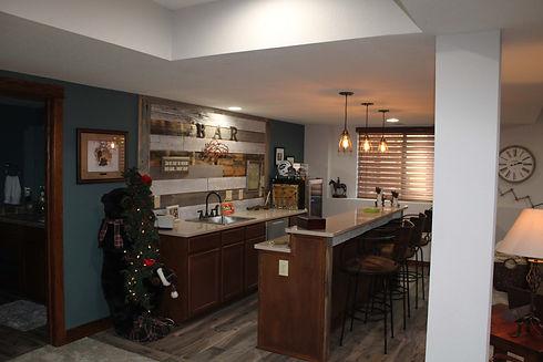 westec builders custom basement remodel