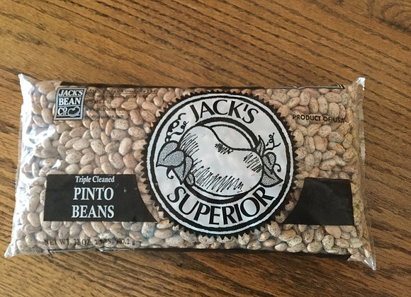 Jack's Superior pinto beans 2 lbs.