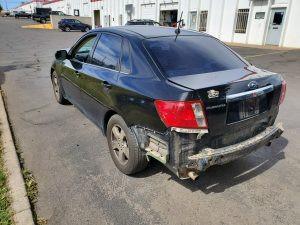 2009 Impreza sedan left rear