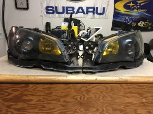 2006 STI headlights
