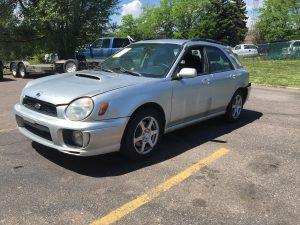 2002 Subaru WRX front left