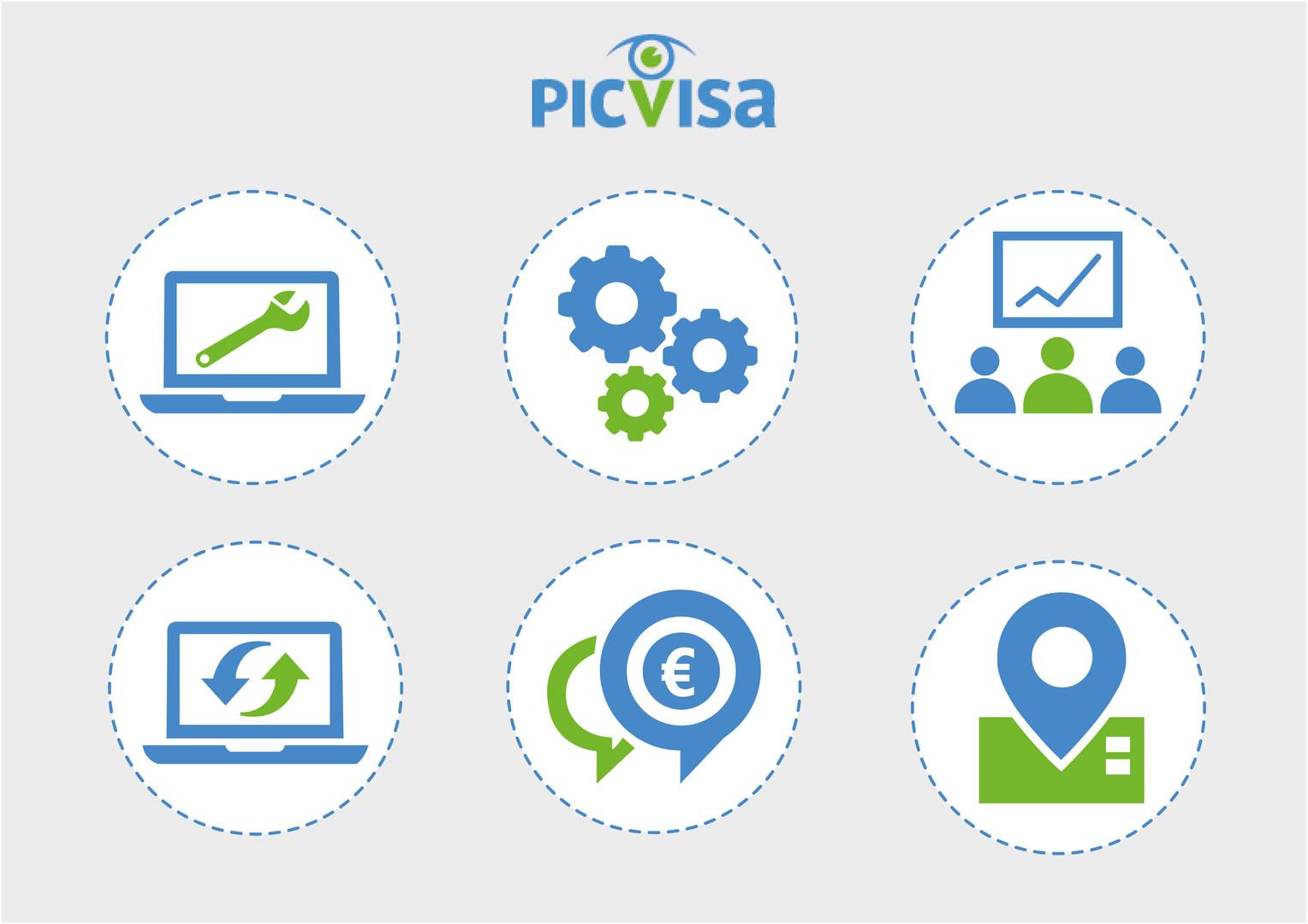 Picvisa Icons