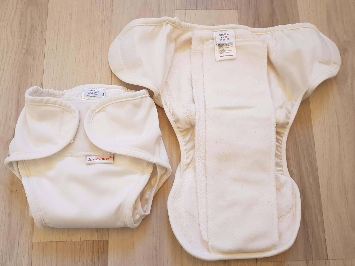 Imse Vimse 5-8 kg (S) all-in-one vaippa