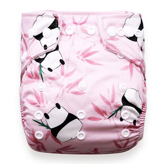 Babyland yhdenkoon taskuvaippa- Pink Panda