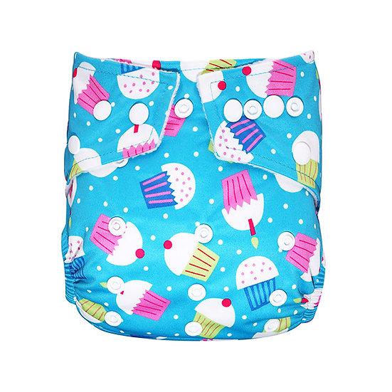 Babyland yhdenkoon taskuvaippa- Cupcakes