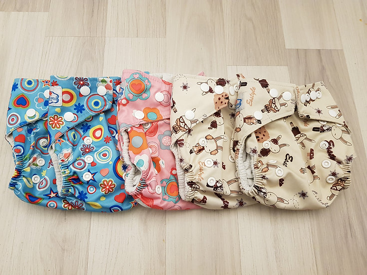 Babyland yhdenkoon taskuvaippa 4-16 kg