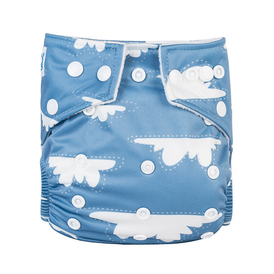 Babyland yhdenkoon taskuvaippa- Fluffy Cloud